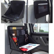 FireAngels Car Laptop Holder Tray Bag Mount Back Seat Auto Food Work Table Organiser
