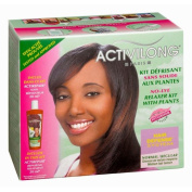 Activilong Hair Defence System Relaxer Kit / Soda-free / Made from Plant Extracts / for Normal, Medium-texture Hair