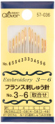 NO3-6 57-036 Clover France embroidery needle