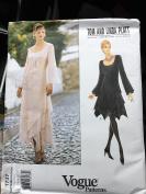 Vogue Patterns 1737 size 6,8,10 misses Dress tom and Linda Platt