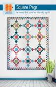 Hunter's Design Studio Square Pegs Quilt Pattern