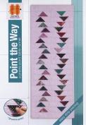 Hunter's Design Studio Point The Way Table Runner Quilt Pattern