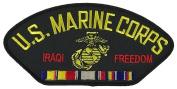 U.S. MARINE CORPS IRAQI FREEDOM VETERAN W/ COMBAT ACTION RIBBON PATCH - Multi-coloured - Veteran Owned Business