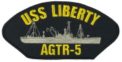 USS LIBERTY AGTR-5 PATCH - Multi-coloured - Veteran Owned Business