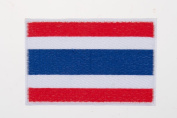 Thailand National flag Embroidery Needlecraft Decor by sewing or ironing
