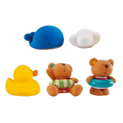 Little Splashers - Teddy and Friends Bath Squirts by Hape