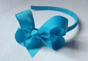 Alice Band With Bow Girls Ribbon Hair Band Girls Wrapped Headband