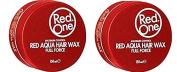 Red One Maximum Control Red Aqua Hair Wax Full Force 150ml