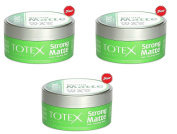 Totex Hair Styling Wax Strong Matte 150ml
