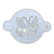 TAP 064 Face Painting Stencil - Ornate Butterfly