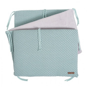 Baby's Only 254283 Cot Bumper Sun Classic Mint/Stonegreen