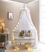 Truedays Dome Princess Bed Canopy Bed Curtain Mosquito Net Canopy for Baby Kids Reading Playing Indoor outdoor Games Children Room Decorate