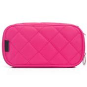 MLMSY Make Up Bag for Women with Mirror Beauty Makeup Brush Bags Travel Kit Organiser Cosmetic Bag Professional Multifunctional 2 layer Organiser