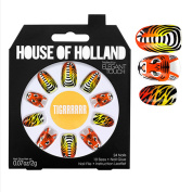 House Of Holland TIGRRRRRR TIGER false Nails Plus Nail Glue Nail File fake nails