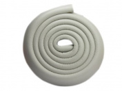 2m Soft Corner Protector Guard Anti Bump Strip for Protecting Baby Kid Adult Grey