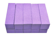 KM Nails 5 Purple Buffer Washable + Disinfected