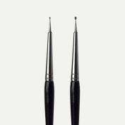 Nail Art Black Dotting Pen - For Placing Nail Gems, UV Gel and False Nails