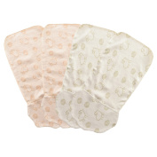 Yoyosoudou Organic Cotton Sweat Absorbent Wicking Towel, 4 PCS, Sheep Jacquard