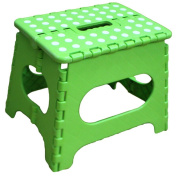 Bhbuy Folding Stepping Stool with Removable Non-Slip Caps Rubber Grips for Kids Toddler