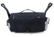 Anvy & Me Stroller Organiser Nappy Bag, Black