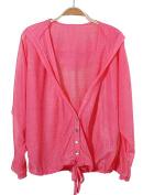 Freedi Women UV Sun Protective Clothing Lightweight Skin Coat Long Sleeve Beachwear Cover Up