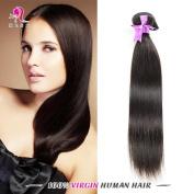 ��HLSK Hair Unprocessed 7A Remy Human Hair Brazilian Straight Virgin Hair 3 Bundles Extensions