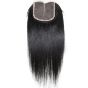 Miss Kiss Hair Brazilian Free Part 4x 4 Swiss Lace Closure Straight Human Hair Unprocessed Virgin Hair Remy Hair