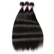 Brazilian Virgin Hair, Queenstar Grade 8A Brazilian Silky Straight Hair Weaves Remy Human Hair Bundles Natural Colour 3pcs/lot