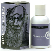 The Notable Series by Beardsley – Charles Darwin - Ultra Shampoo for Beards, Wild Berry 120ml