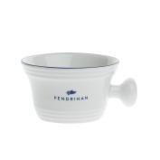 Fendrihan Porcelain Apothecary Shaving Mug, Hand-Painted Rim