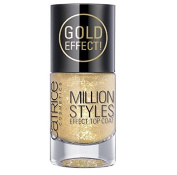 Catrice Million 10 L, Style No. 07 Unfold The Unlimited Gold Effect Top Coat, 0.33 vl. oz
