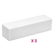 3 Buffer Blocks White