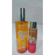 PROTEXTREM Bronze FPS 30 Dry Oil 200 ml + PROTEXTREM Sublime Oil Brightening 50 ml Gift