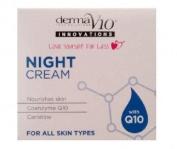 SIX PACKS of Derma V10 Innovations Night Cream 50ml