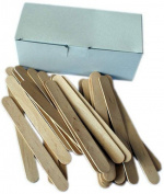 Epilwax S.A.S Pack of 100 Disposable Wooden Body Spatulas
