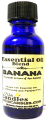 Bananas 1oz / 29.5ml BLUE GLASS BOTTLE of Premium Grade Infused with Essential Oil, 1oz Skin Safe Fragrance