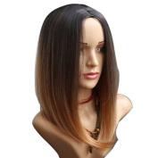 SmartFactory Bob Short Big Wavy Synthetic Fibre Wig for Fashion Women