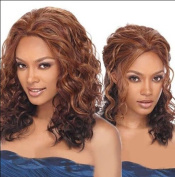 SmartFactory Natural Wavy Curly Synthetic Fibre Human Hair Wig For Women
