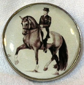 Fine Art Horse Snap DRESSAGE PIAFFE 18-20MM Great Horse Item! SOME WITH BUBBLES!