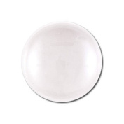 Joyingle 30 Pieces Clear Glass Dome Tile Cabochon Clear 30mm 1.2 Inch Non-calibrated Round