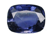 Natural Purple Blue Iolite 3.75 ct.Oval Loose Gemstone for fine Jewellery EA11071