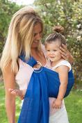 Sukkiri Adjustable Ring Sling Baby Carrier, Bright Blue