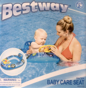 aby Infant Float Raft with Built in Horn. Water Baby Care Seat, Ages Under 2 years