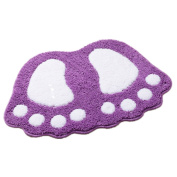 Big Feet Cushion Non-slip Mat Pad Bedroom Decoration Rug Bath Area Rug Pad Carpet