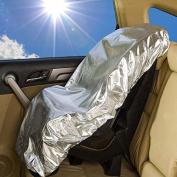 Hiltow baby car seat sun shade