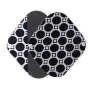 Menstrual Pads Reusable Sanitary Pads Covermason Reusable Bamboo Charocoal Washable Menstrual Pad Mama Sanitary Towel Pad