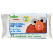 Hushables Fragrance Free Hypoallergenic Baby Wipes 72 ct
