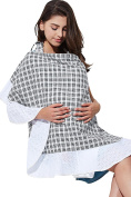 Sweet Mommy Nursing Cover with Cotton Lace BL
