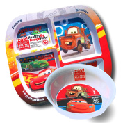 Disney Cars 3 Toddler Dinnerware Set