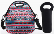 Shubb Portable Thermal Insulated Lunch Bag Picnic Travel Tote Storage Pouch